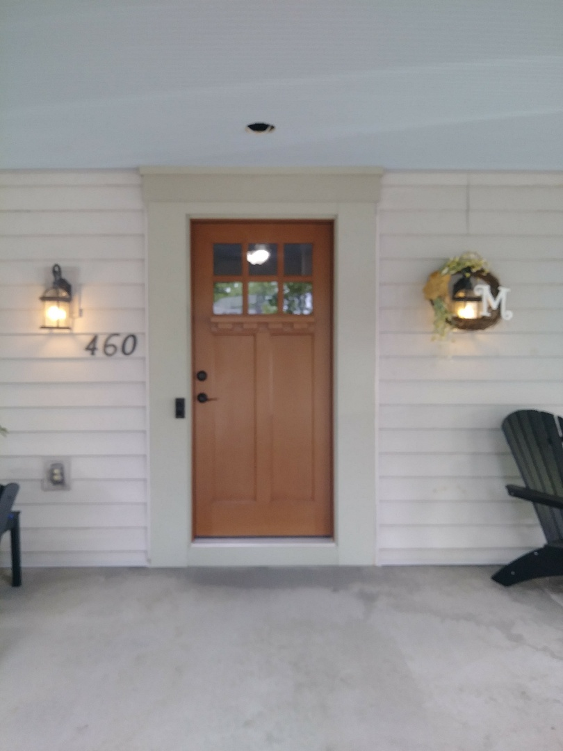 Worthington, OH - New door installation, curb appeal