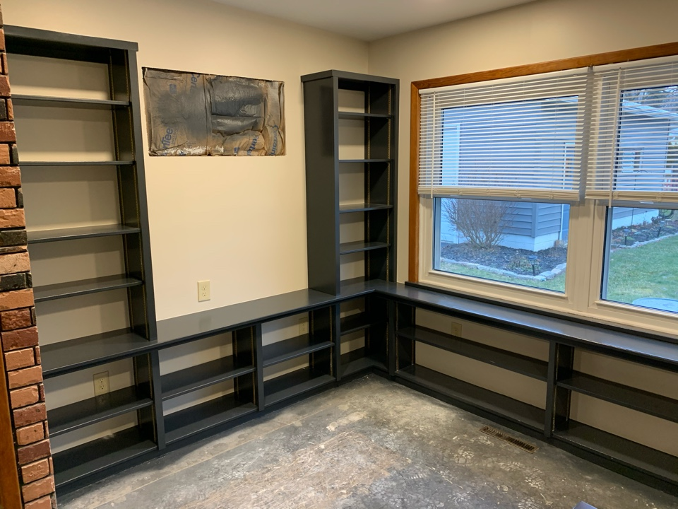 Worthington, OH - Built-in cabinetry is a great way to enhance your space, and our team can help you with your custom remodeling needs.
