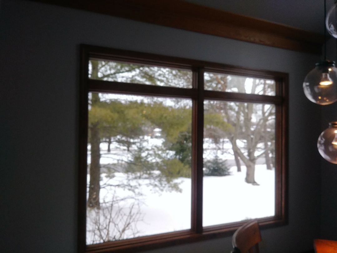 Dublin, OH - New window in the place of a much smaller window.