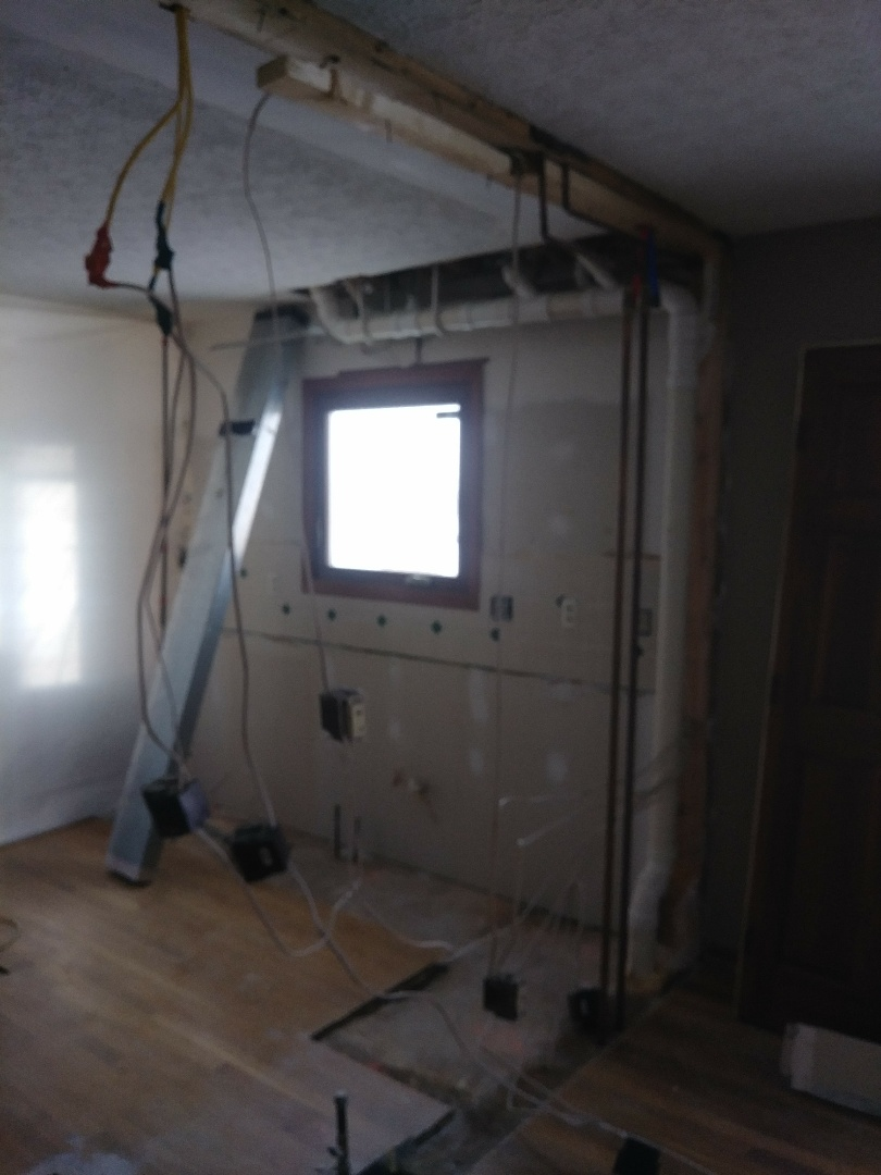 Powell, OH - Demo day! New kitchen and cabinets.
