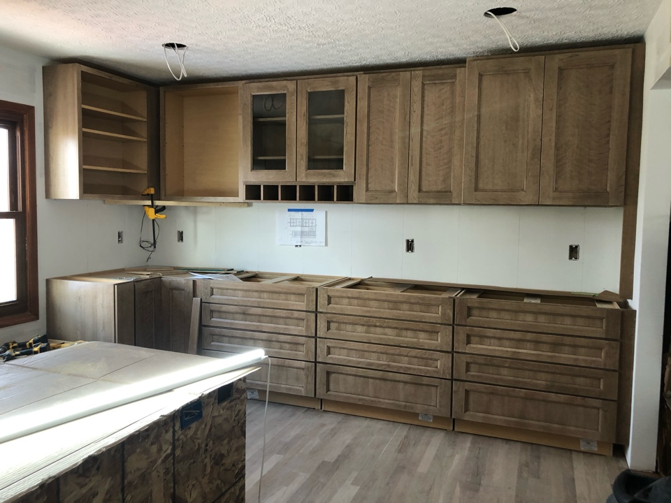 Powell, OH - Medallion Gold Cabinets from the Cabinet Shop landed in our kitchen project in Powell.