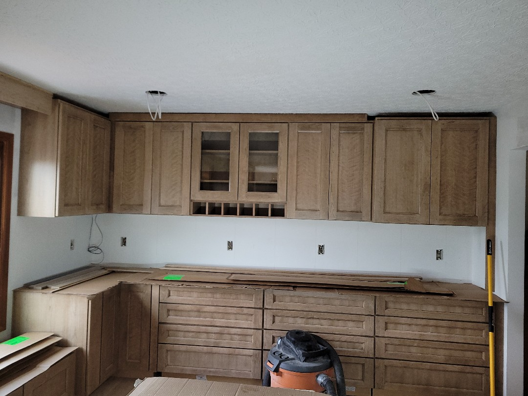 """Powell, OH - New cabinets and a new designed """"Medallion cabinets""""  kitchen makes for a happy home"""