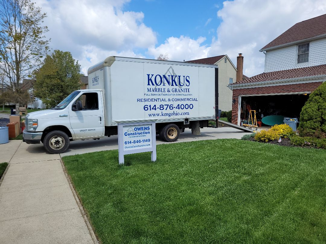 Powell, OH - Owens Construction and Konkus Marble &Granite, building new kitchens together