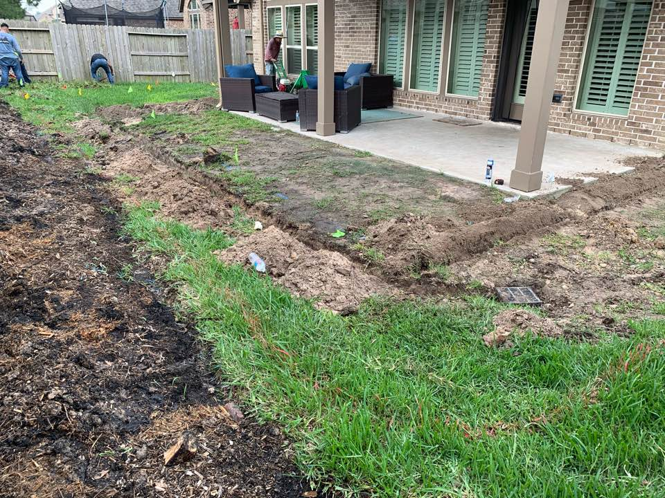 Spring, TX - Landscaping & Patio