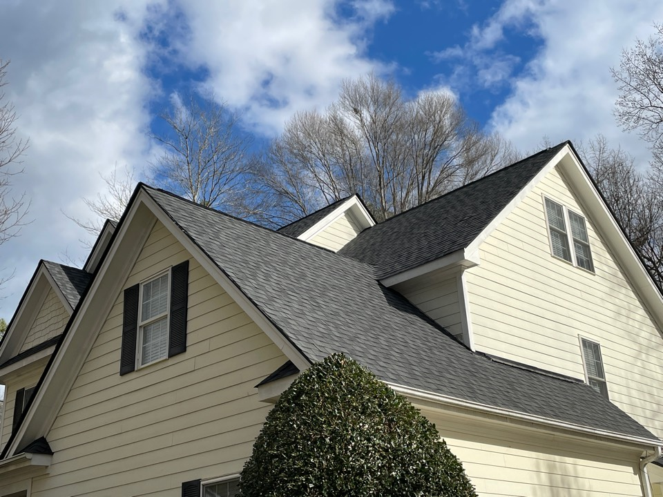 Apex, NC - Another great job! Moire Black Max Def looking sharp.