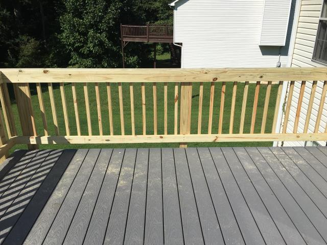 DECK REPLACEMENT COMPLETED IN DOUGLASVILLE