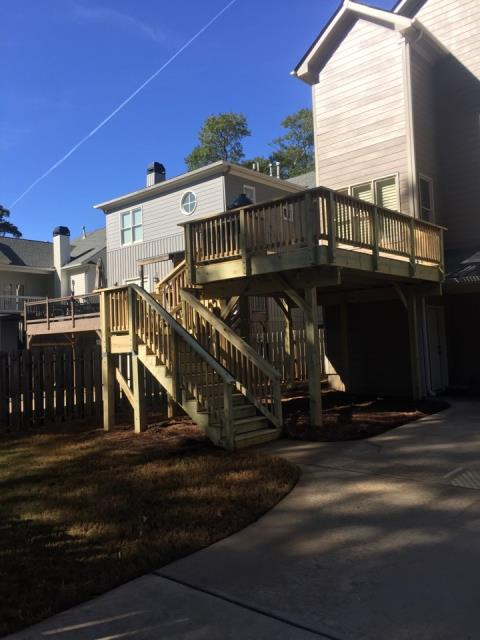 Smyrna, GA - DECK REPLACEMENT COMPLETED IN SMYRNA, GA