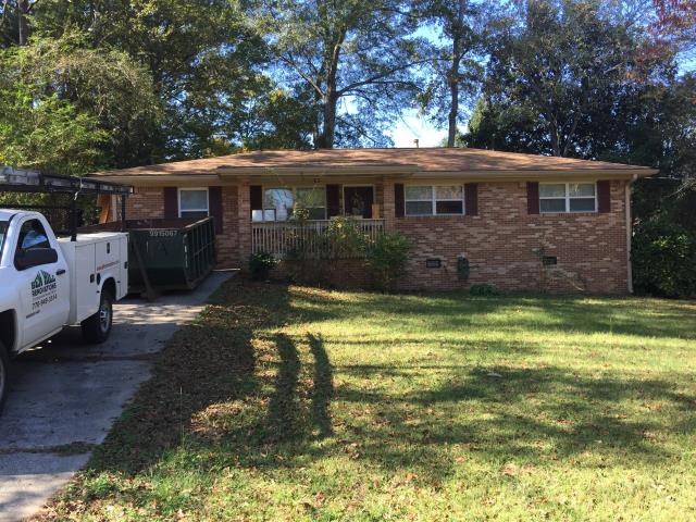 Austell, GA - Roof replacement completed in  Austell, Ga.