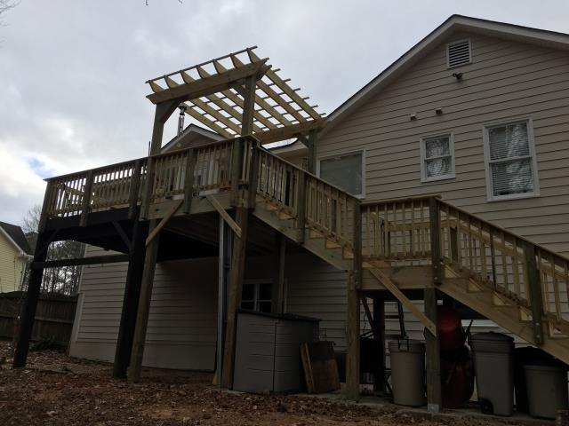 Dallas, GA - GUTTER AND DECK REPLACEMENT COMPLETED IN DALLAS, GA