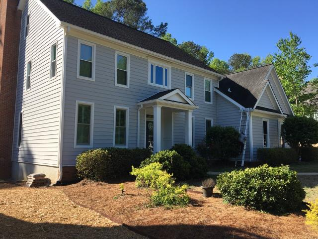 Peachtree City, GA - Siding, Deck and Window replacement completed in Peachtree City, Ga