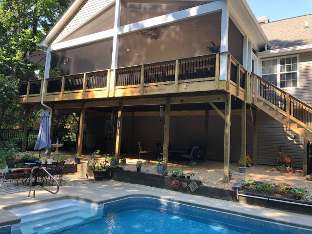 DECK REPLACEMENT COMPLETED IN DALLAS, GA