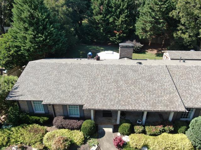 Roof replacement completed in Roswell, Ga