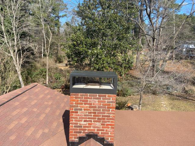 East Point, GA - CHIMNEY CAP REPLACED IN EAST POINT, GA