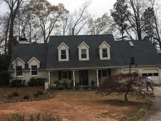 Atlanta, GA - Roof replacement completed in Brookhaven, Ga