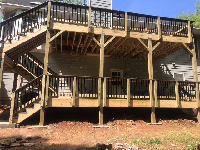 Lawrenceville, GA - DECK REPLACEMENT COMPLETED IN LAWRENCEVILLE, GA