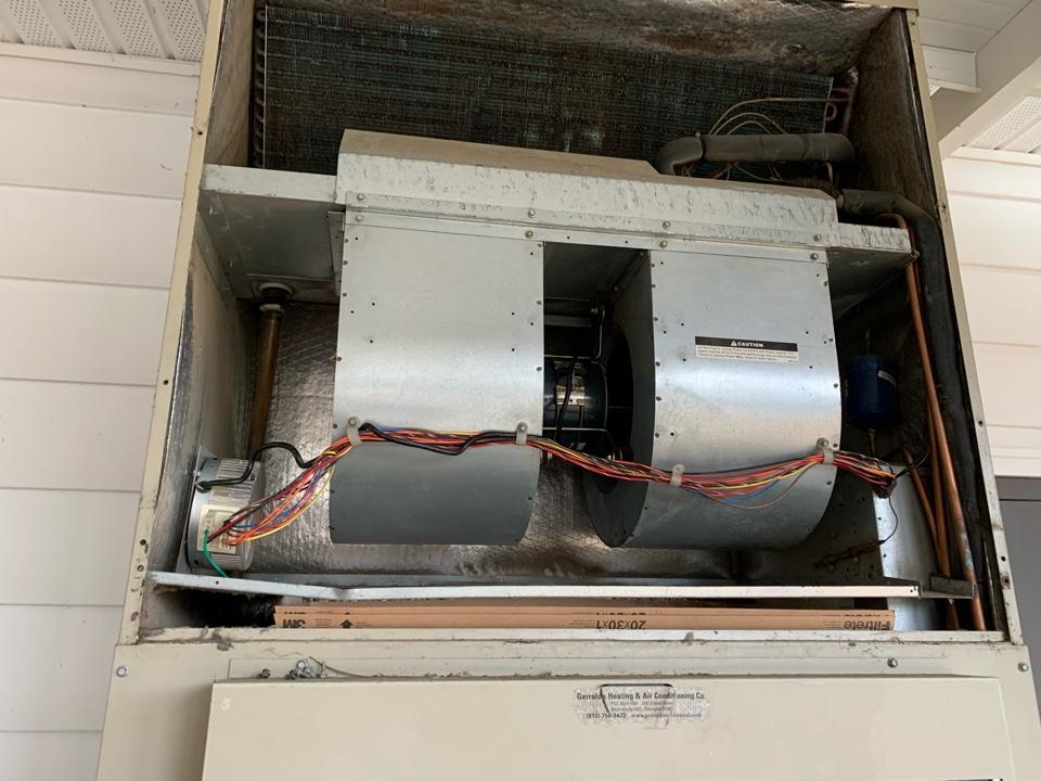 Richmond Hill, GA - Installing blower motor
