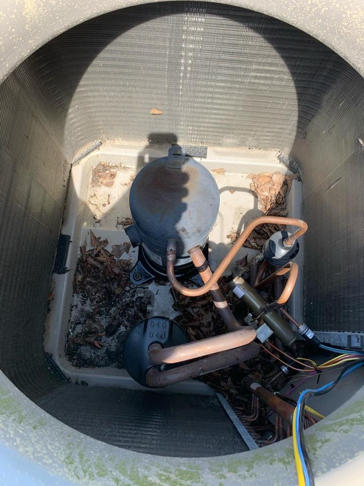 Rincon, GA - Compressor change out