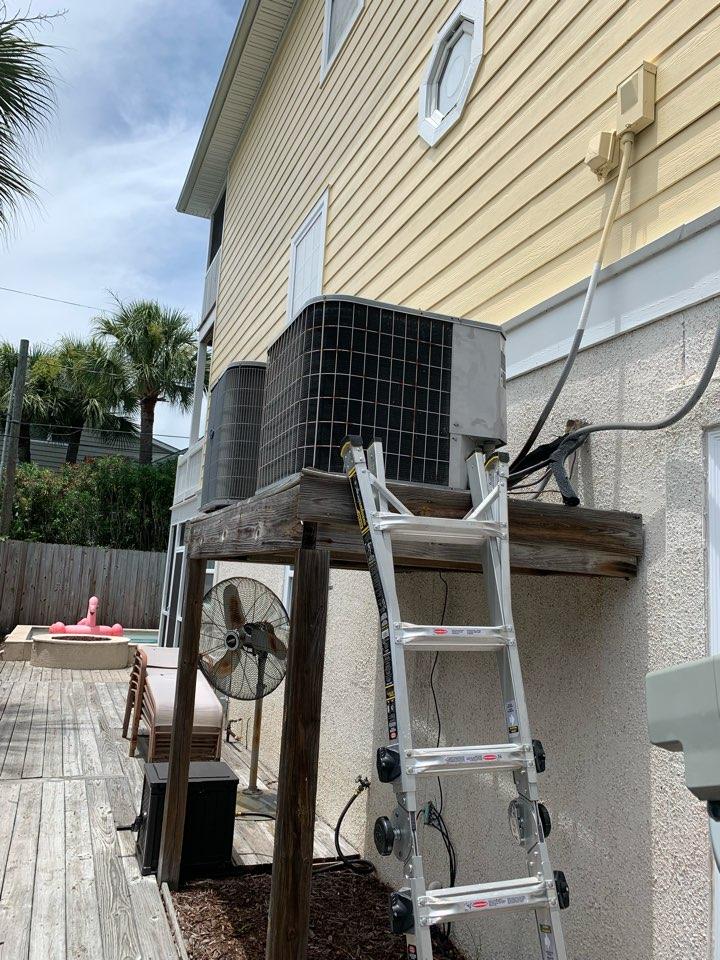 Tybee Island, GA - No cooling service call