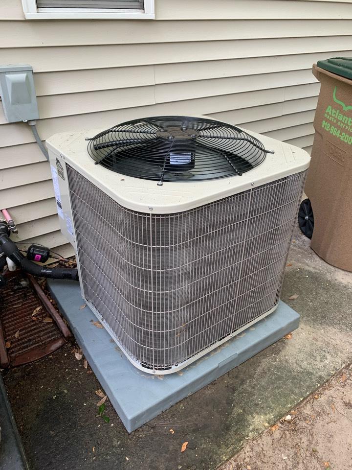 Savannah, GA - Heat pump heating maintenance