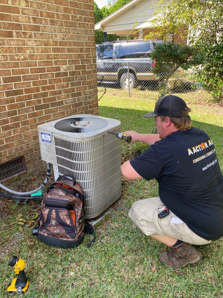Waycross, GA - Goodman heat pump