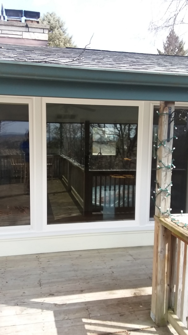 Hartland, WI - One window pocket install with aluminum