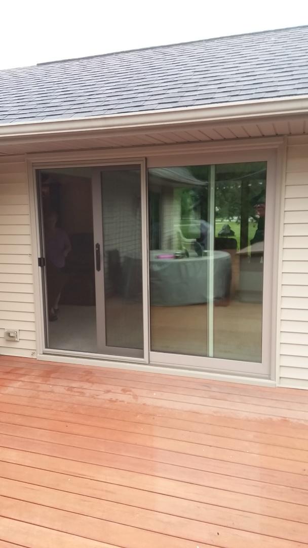 Sheboygan, WI - Installed 2 patio doors