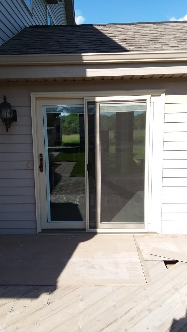 Burlington, WI - Installed 9 windows and 1 patio door