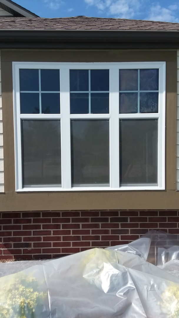 Franklin, WI - Ten windows pocket install with stops and aluminum trim