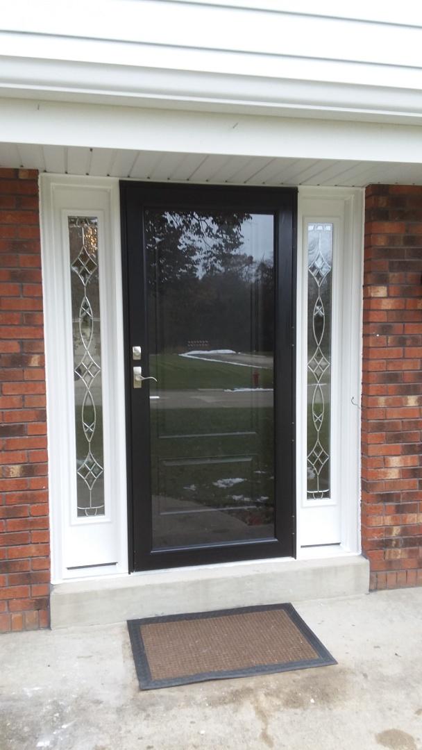 Franklin, WI - Entry door, after