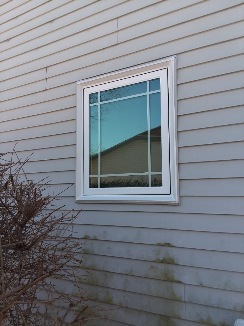 Oak Creek, WI - One window pocket install with stops and aluminum trim