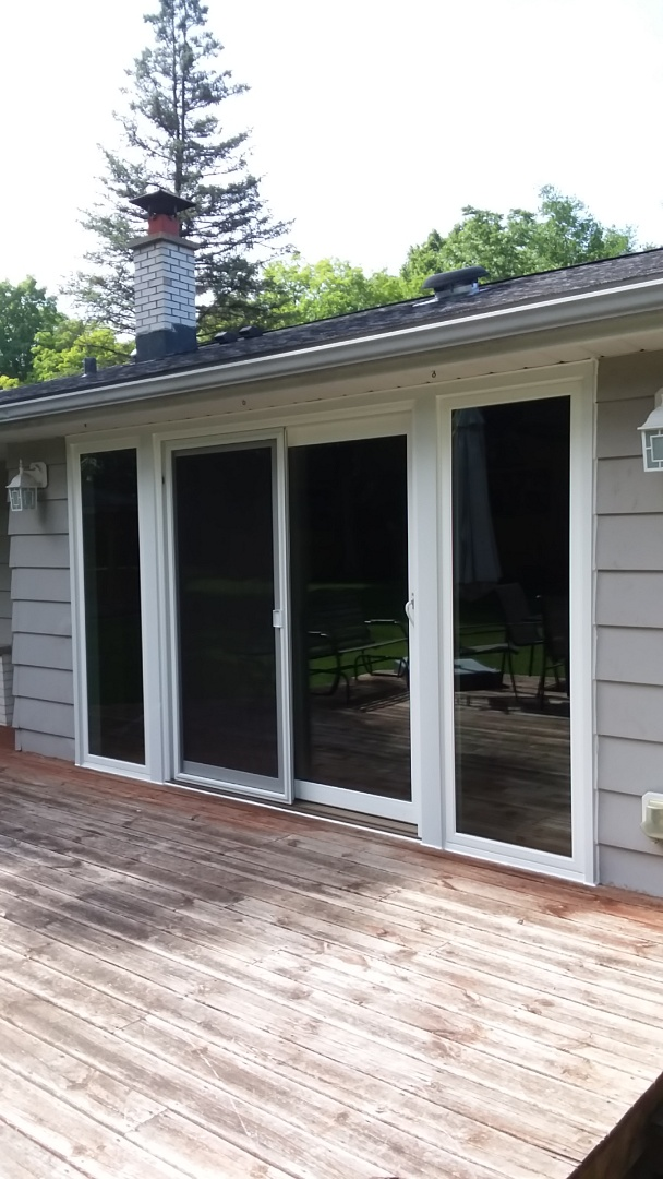 Greenfield, WI - Patio door with sidelights