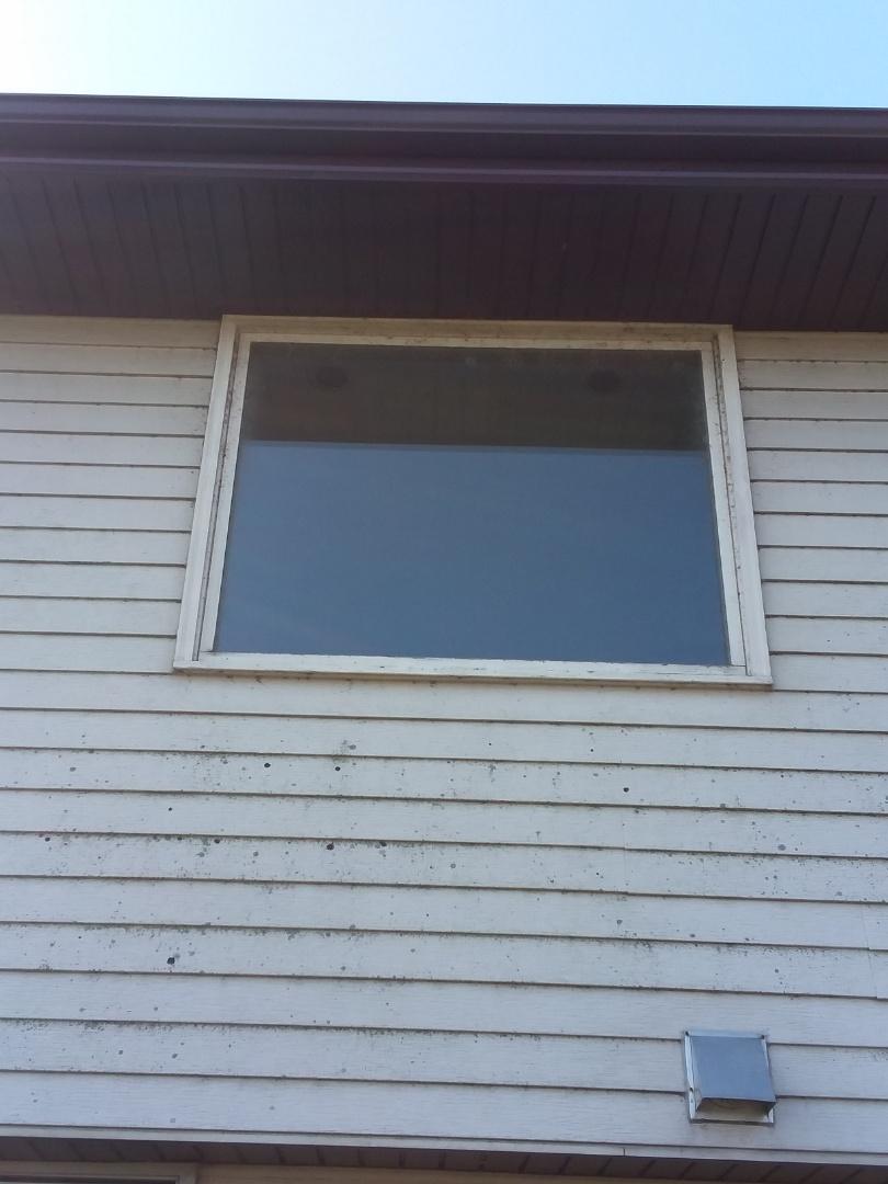 Mukwonago, WI - Four windows full frame with woodwork