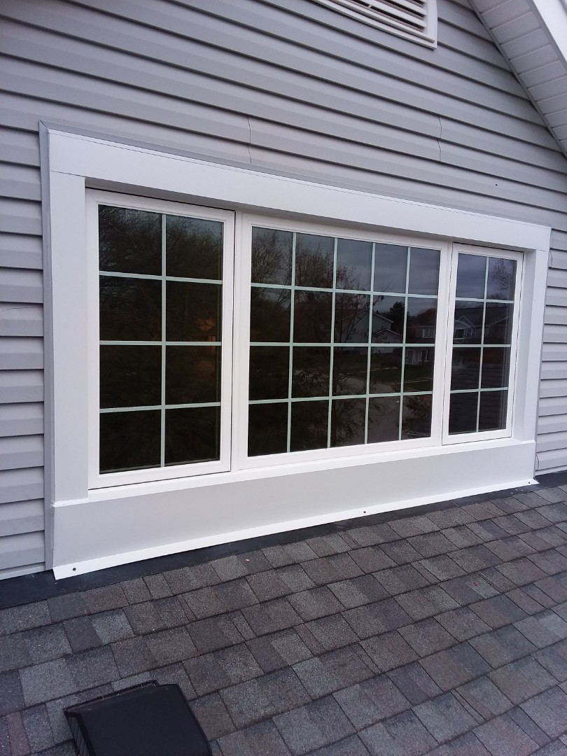 Franklin, WI - One window pocket install with aluminum trim and stops