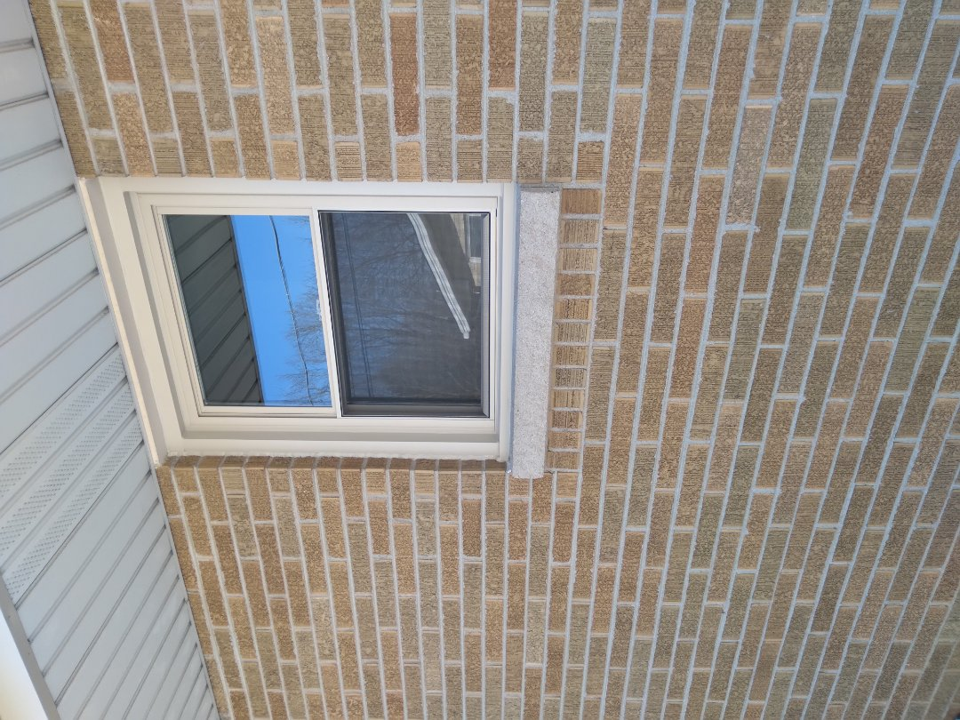 Oak Creek, WI - Four windows pocket install with aluminium