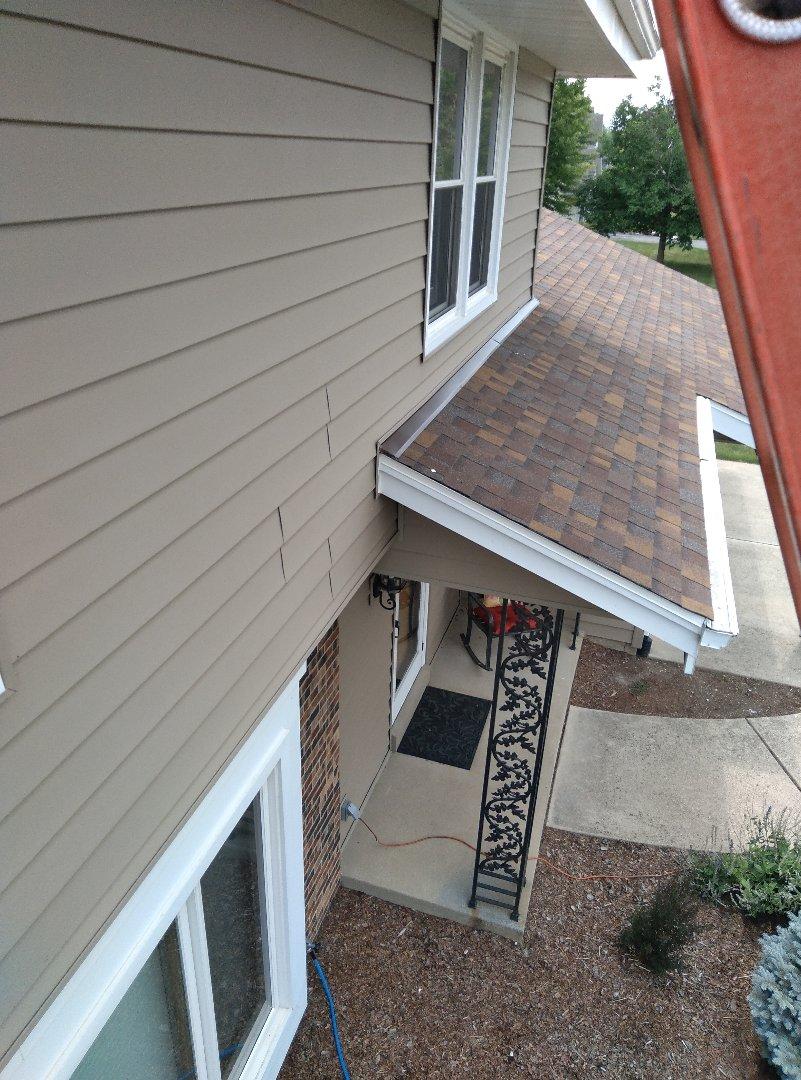 Racine, WI - Installing new roof flashing
