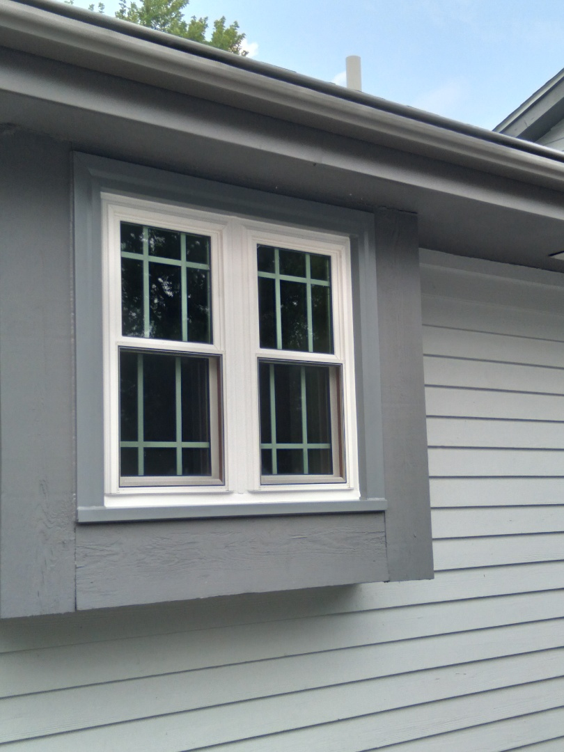 Muskego, WI - One window pocket install with stops and aluminum trim