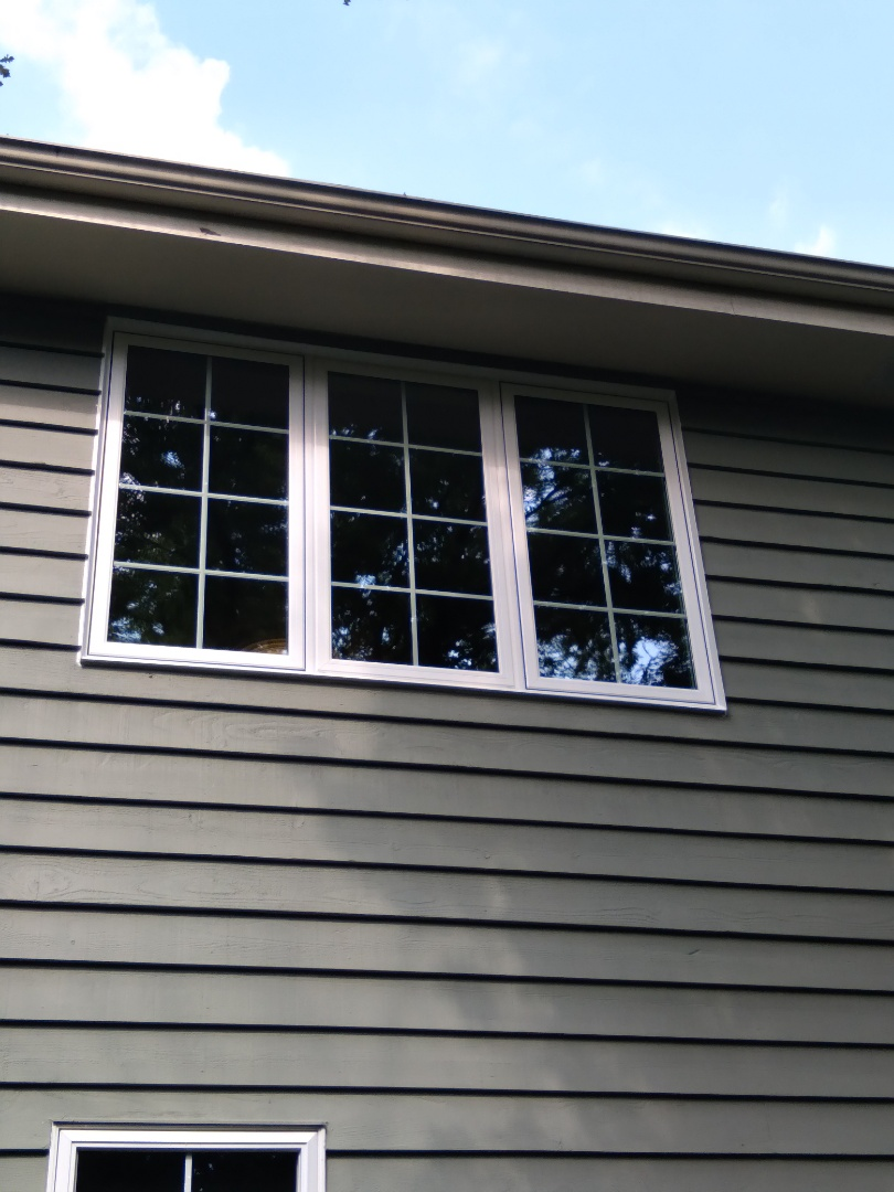 Menomonee Falls, WI - One full frame with woodwork and aluminum trim