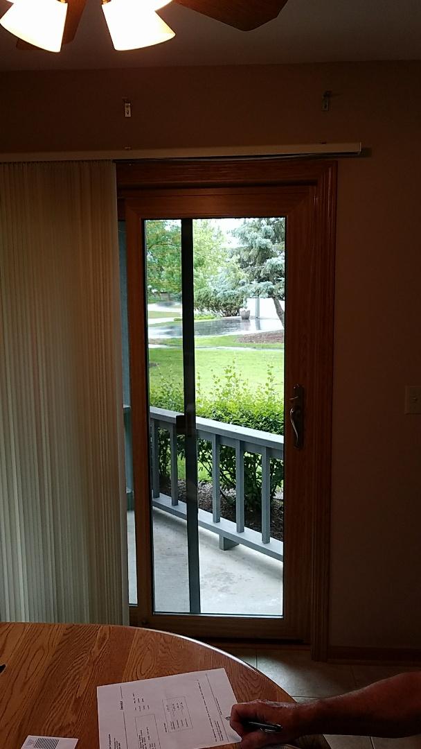 Muskego, WI - Custom size and color patio door