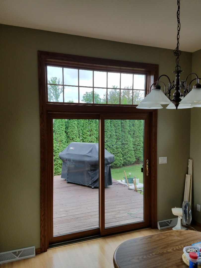 Plymouth, WI - 14 Full Frame Double Hung Windows and a Patio Door, Day 4