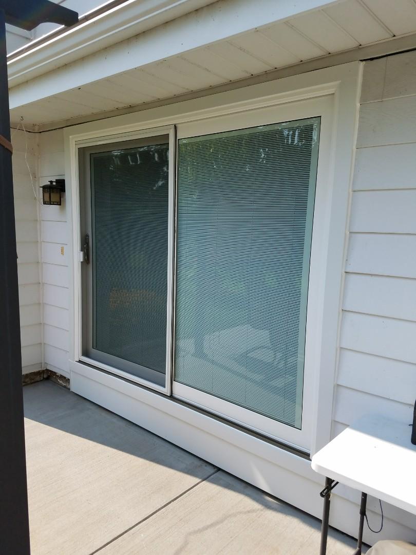 Oconomowoc, WI - Bay Window, a Patio Door and 4 Double Hung Windows, Day 3
