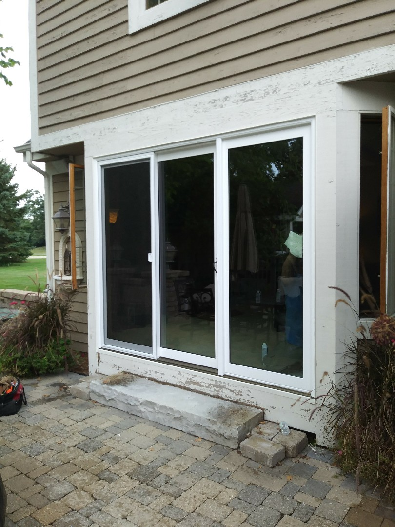 Oconomowoc, WI - 3 Panel Patio Door