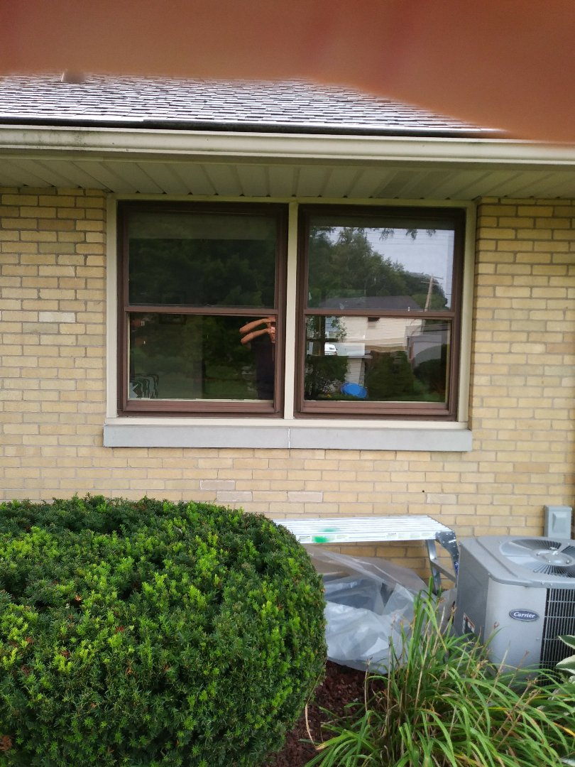Wauwatosa, WI - Full frame window replacement.