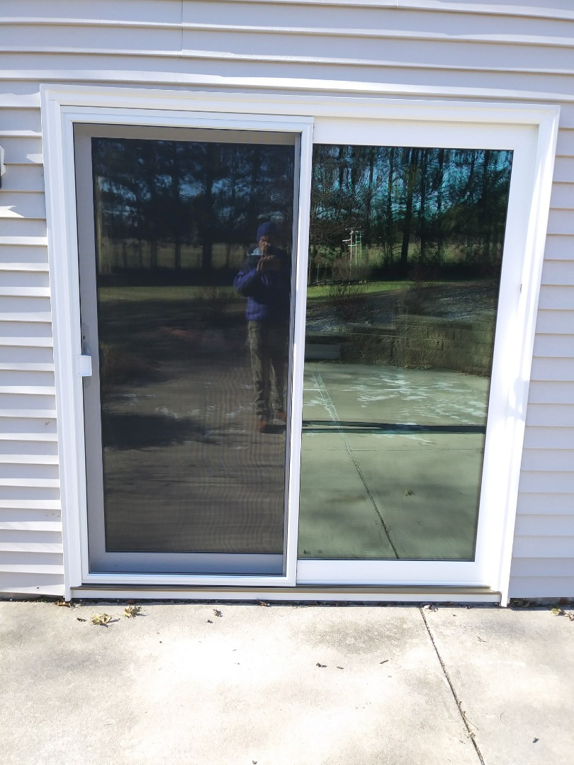 West Bend, WI - Two new Sliding Patio Doors by WeatherTight