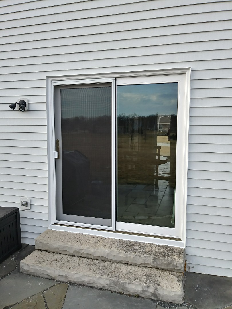 Franklin, WI - 15 single hung windows and a patio door, Day 3