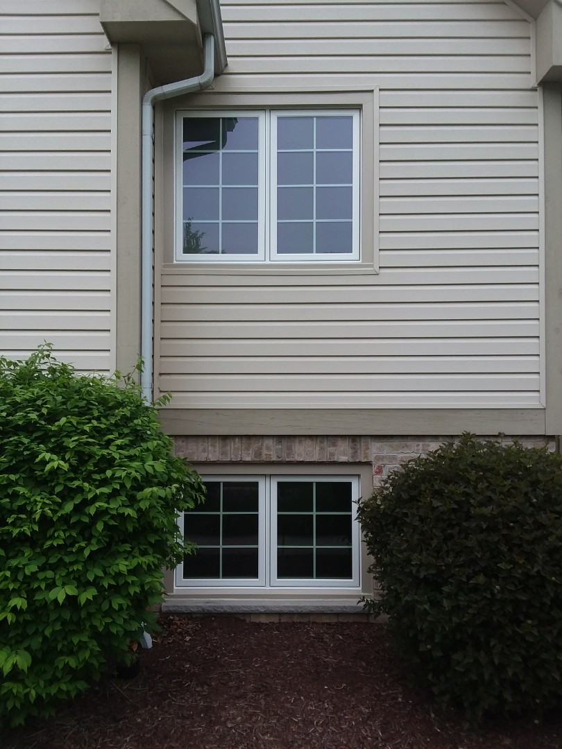 Greenfield, WI - 5 casement windows and gutter protection