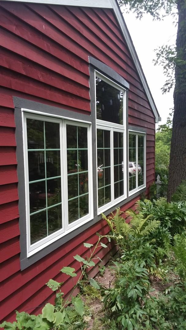 Oconomowoc, WI - 2 twin casement windows