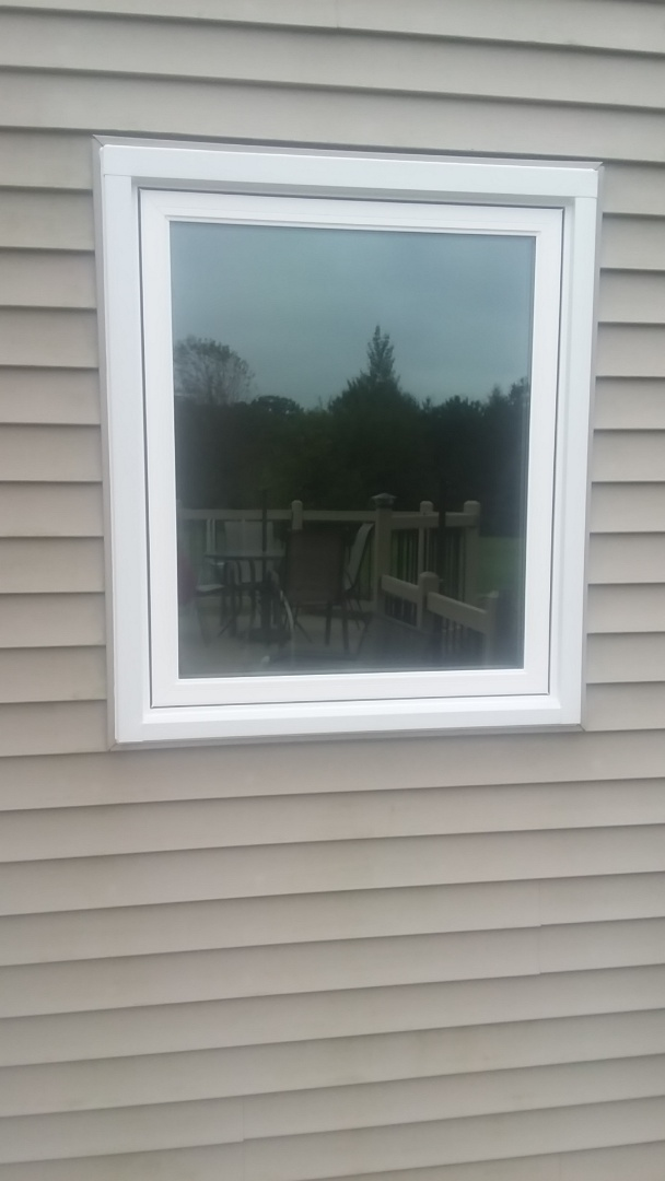 Oconomowoc, WI - Eighteen windows pocket install without woodwork and aluminum trim