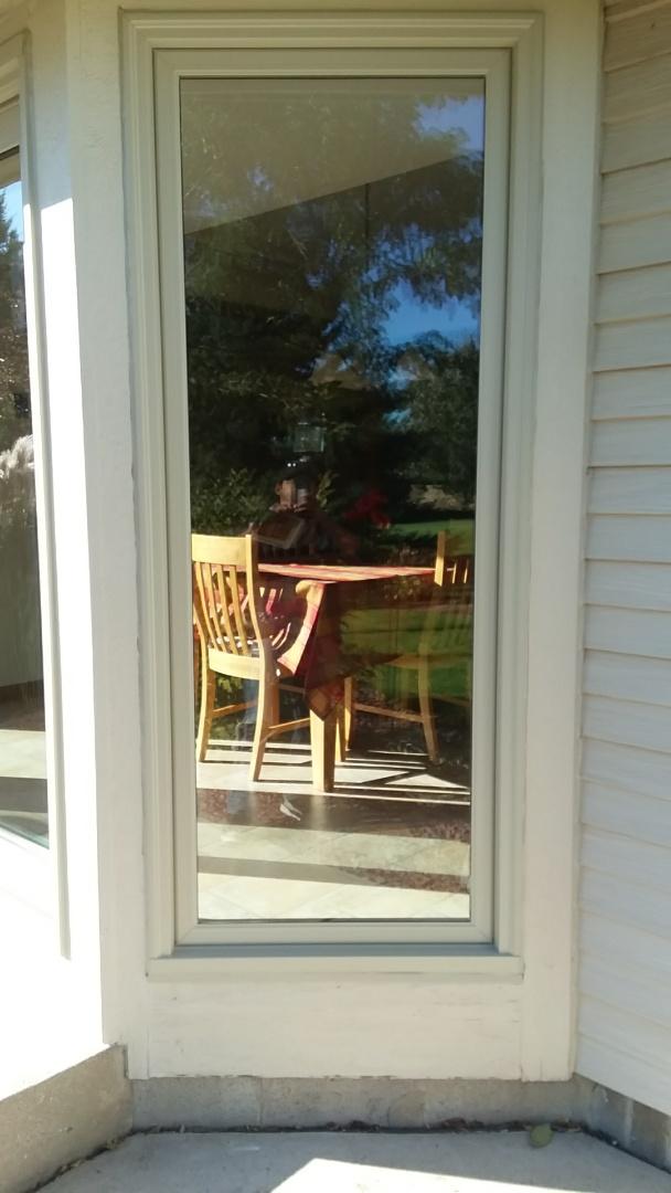 Oconomowoc, WI - Insalling front door 2 2windows and a patio door