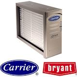 Baltimore, MD - Customer reports problems with electronic air cleaners.  Clean electronic air cleaners, check drains, electrical connections, safeties, amps, humidifiers, ultraviolet light.   Bulbs should be changed. Humidifiers - both had no water flow, strainers clogged. Remove and clean strainers, set flow. Both working.  Recommend pad replacement.  Customer concurs.