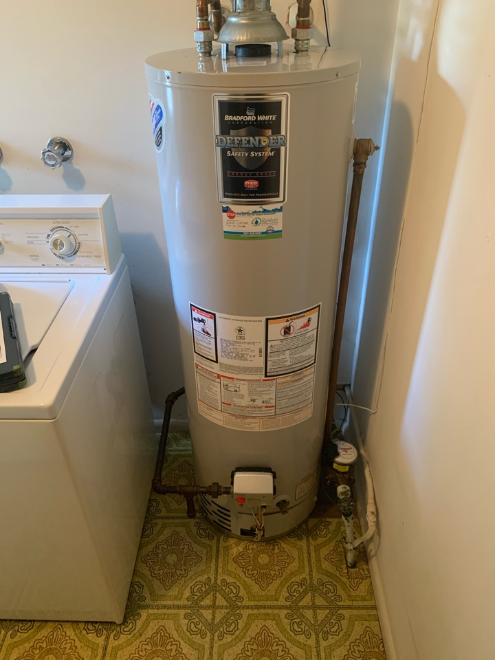 Performing a water heater tune-up